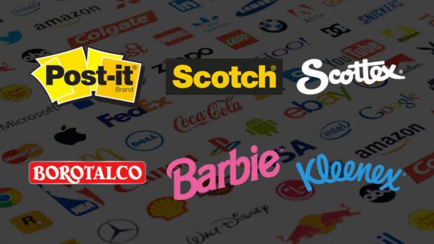 Quando i nomi dei brand diventano parole di uso comune: da Post-it a Jacuzzi