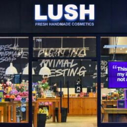 Lush abbandona i social: i dettagli