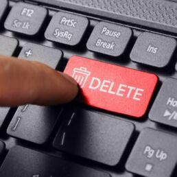 Cancellare la cronologia delle posizioni e dell'attività online