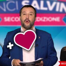 Vinci Salvini: torna il gioco a premi sui social della Lega