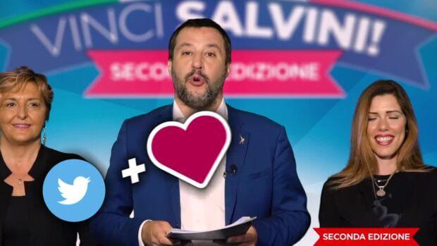 Vinci Salvini: il gioco a premi del leader leghista insegna cosa funziona sui social