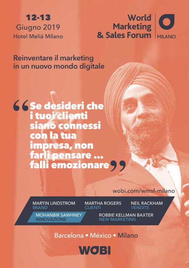 World Marketing and Sales Forum 2019