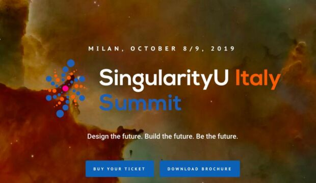 SingularityU Italy Summit 2019