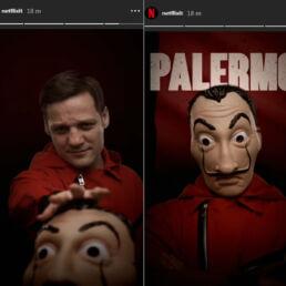 Palermo nuovo personaggio de la casa di carta