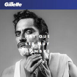"Campagna di Gillette Spagna: ""It takes a real man"""