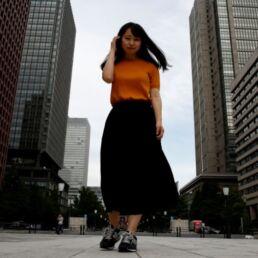 Campagna giapponese contro l'obbligo dei tacchi a lavoro