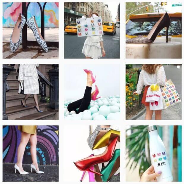 fare shopping con sarah jessica parker collezione di scarpe