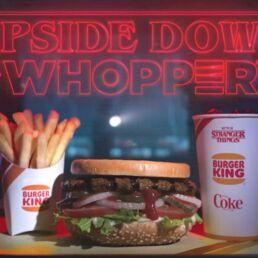 Whopper di Burger King: il panino di Stranger Things
