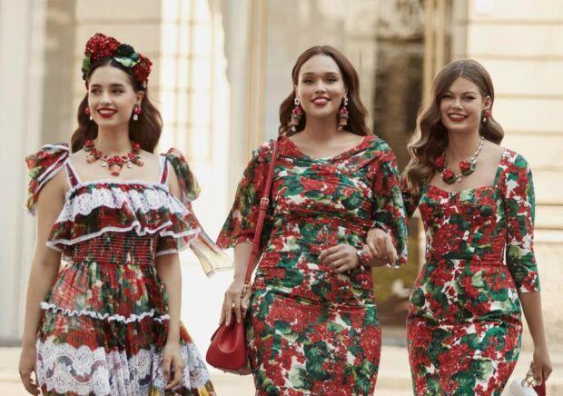 Dolce & Gabbana e diversità femminile: è il primo brand di lusso ad introdurre i capi fino alla taglia 54