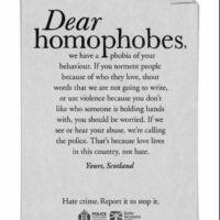 campagne di comunicazione contro haters e troll scozia dear haters 2