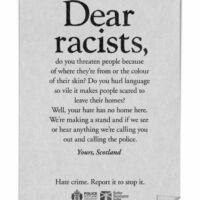 campagne di comunicazione contro haters e troll scozia dear haters 3