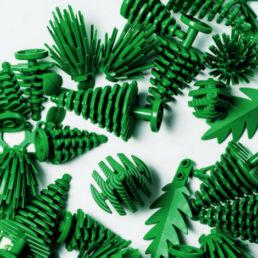 Lego cerca alternative alla plastica per i suoi mattoncini