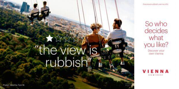 Unrating Vienna: la campagna di marketing territoriale che non ti aspetti, basata sulle recensioni negative della città