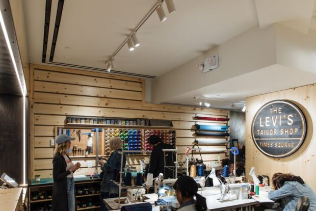 Flagship store di Levi's.