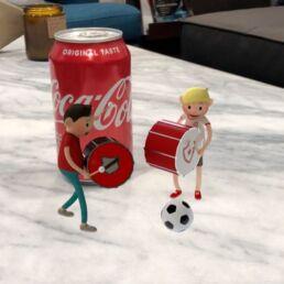 Coca-cola usa la realtà aumentata