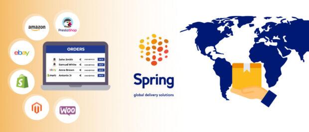 Spring GDS offre soluzioni di logistica internazionale per eCommerce e ne facilita la gestione