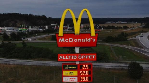 McDonald's stazioni di ricarica per auto elettriche