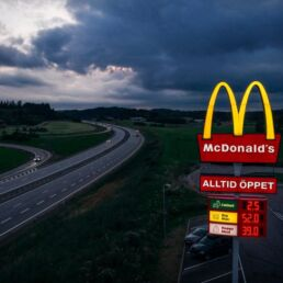 McDonald's segnala dove ricaricare le auto elettriche
