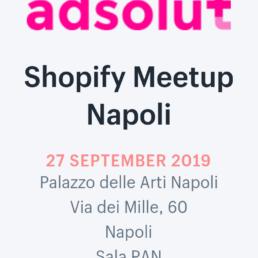 Shopify Meetup Napoli: un bilancio