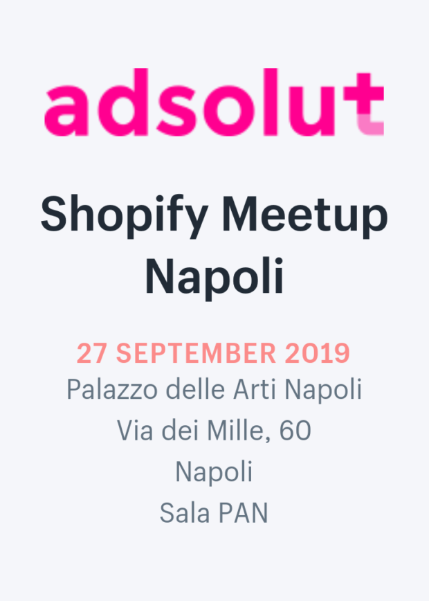 Shopify Meetup Napoli