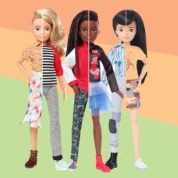 Arrivano le Barbie ungendered per bambine e bambini