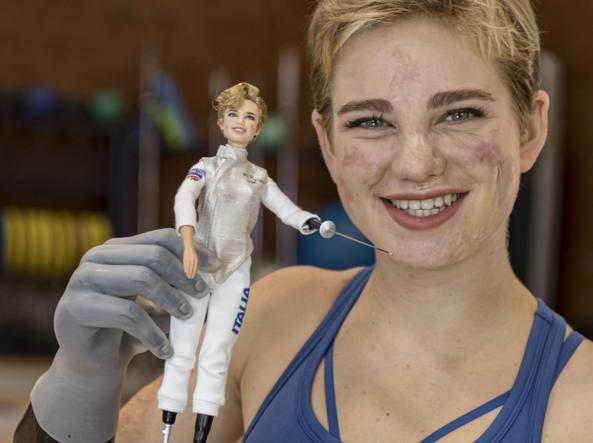 La nuova Barbie Bebe Vio, ispirata alla campionessa paralimpica, invita a sognare l'impossibile