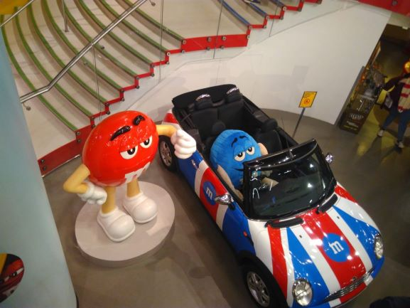 M&M World Store a Londra. Fonte: Ana Baptista