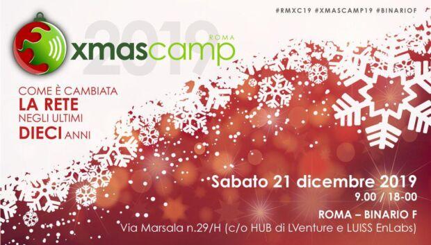 Roma XmasCamp 2019: il BarCamp 10 anni dopo