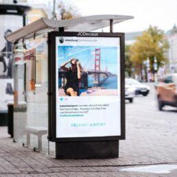 tallin holiday album campagna di comunicazione aeroporto helsinki