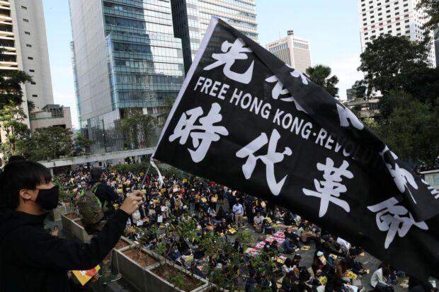 Immagine delle proteste ad Hong Kong. Fonte: Reuters.