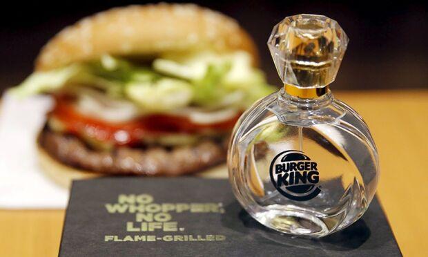Candele di mcdonald's. burger king