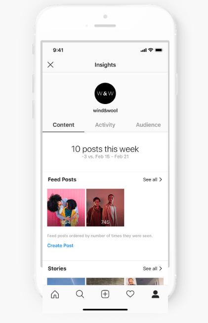 Consigli Instagram - Tab Content