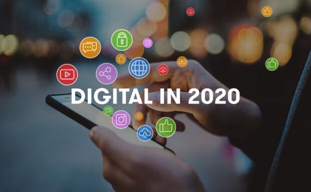 Report Digital 2020: tutti i numeri dello scenario digitale globale