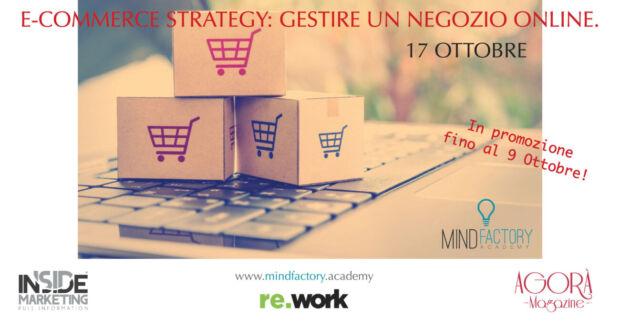 eCommerce strategy: gestire un negozio online