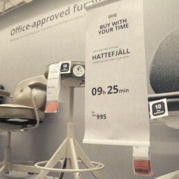 Pagare con il proprio tempo presso Ikea Dubai