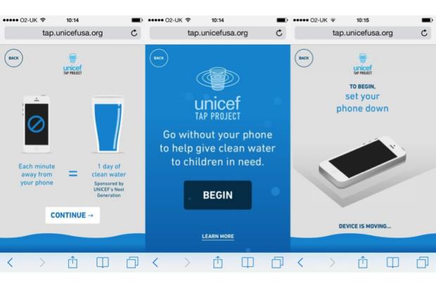 app per donare acqua