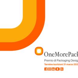 OneMorePack 2020: premio di packaging design
