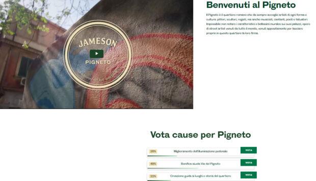 jameson loves neigborhood votare