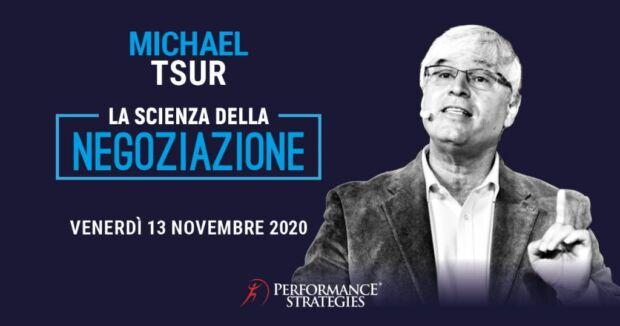 La scienza della negoziazione con Michael Tsur
