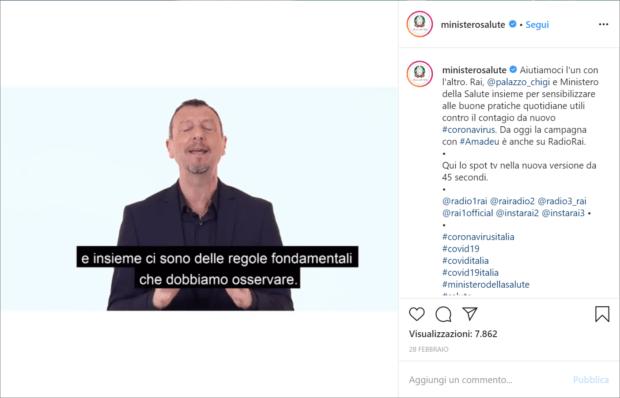 repurposing content comunicazione sociale ministero salute