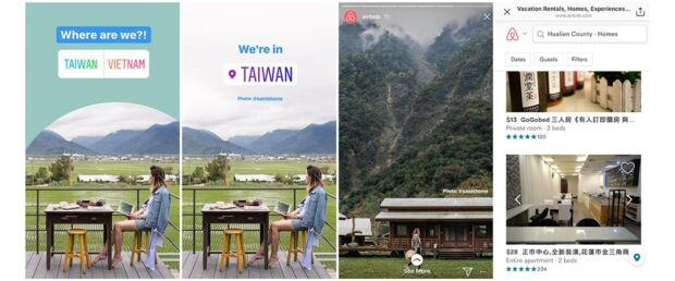 sondaggi nelle storie di Instagram Airbnb