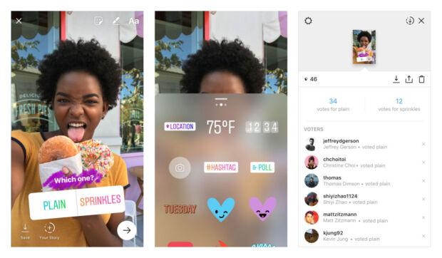 sondaggi nelle storie di Instagram come funzionano