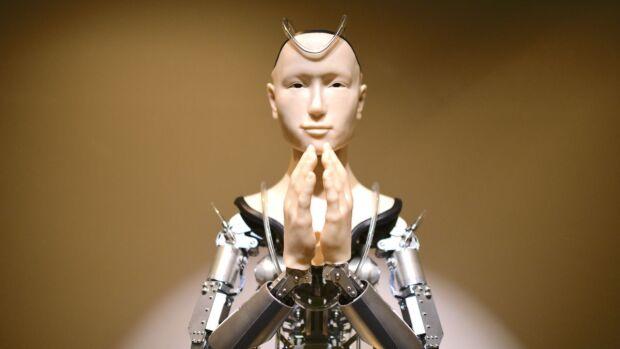 religione e digitale mindar robot buddista
