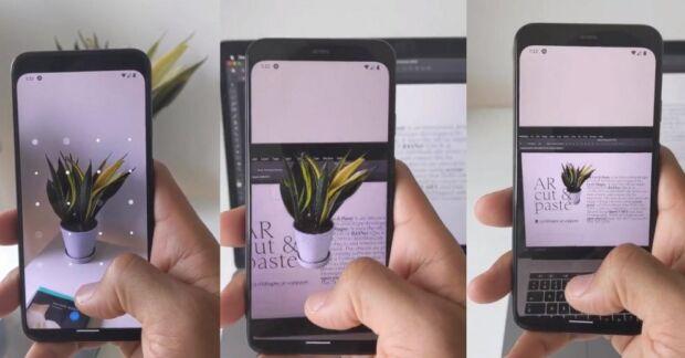 Un'app sfrutta la realtà aumentata per fare copia e incolla di oggetti del mondo reale