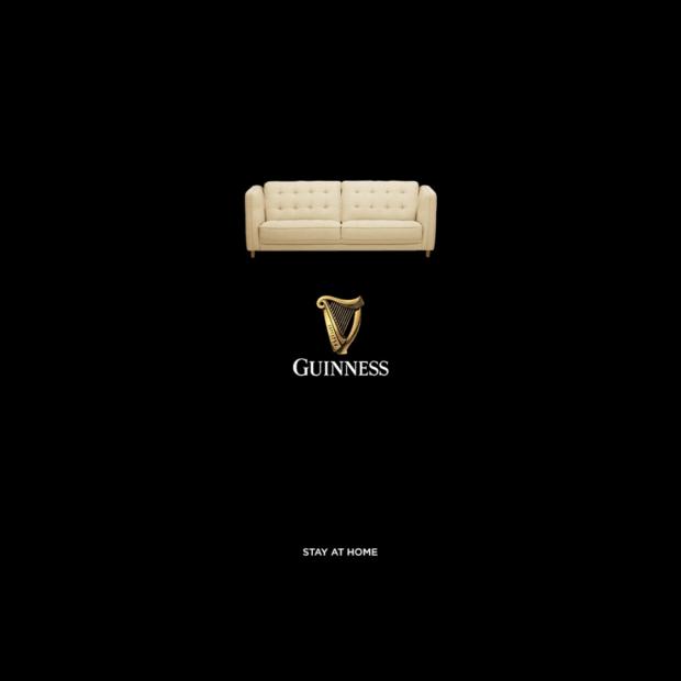 Guinness UGC: la comunicazione dei brand durante il coronavirus