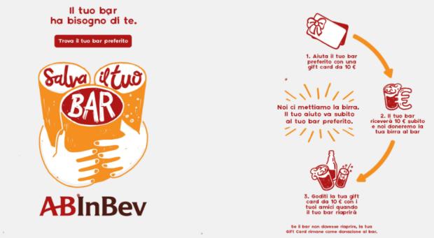 Salva il tuo bar - Homepage