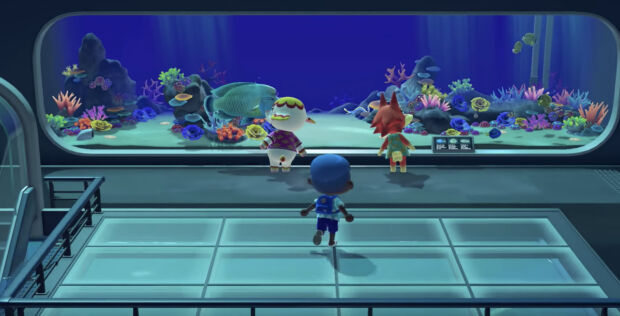 Gli animalisti di PETA organizzano una protesta contro il museo di pesci virtuali all'interno del videogioco Animal Crossing
