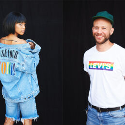 Use your voice: campagna Levi's per il Pride 2020