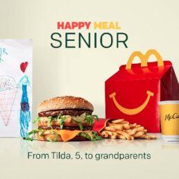 Happy Meal Senior: così McDonald's supporta gli anziani