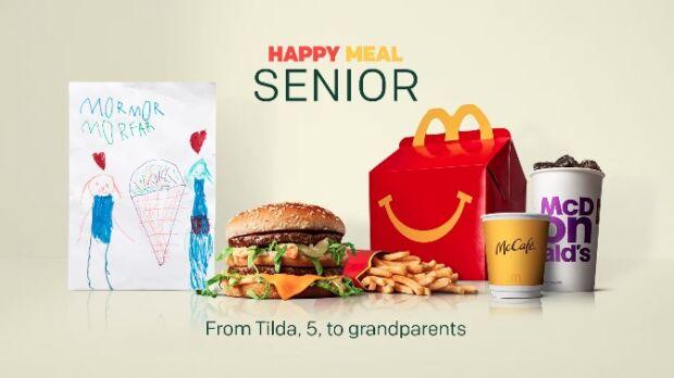 Happy Meal Senior: la campagna di McDonald's per raggiungere gli anziani isolati durante la pandemia